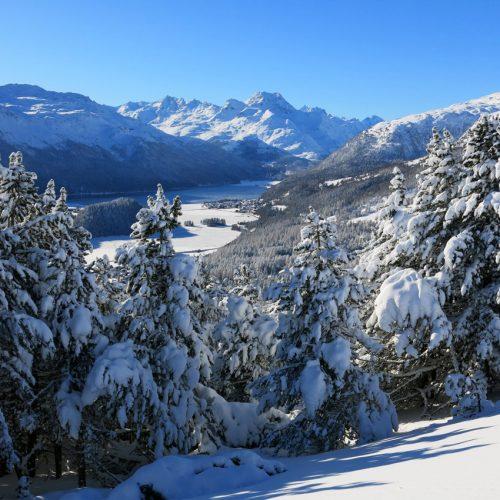 Winterlandschaften Engadin